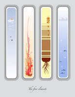 The 4 elements II by Tola