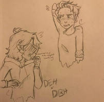 DBH Connor And DEH Connor by PrezidentTaquito