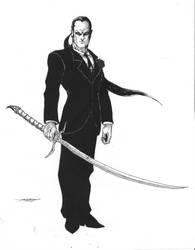 Vampire Hunter by -vassago-