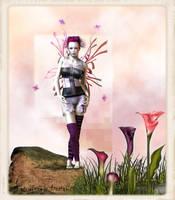 Pink Punk Fairy by fairyfreakster