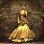Steampunk Lara Fairy by fairyfreakster