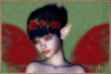 Faeryl Fae Portrait by fairyfreakster