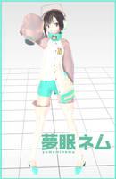 MMD Newcomer - Yumemi Nemu by Pokeluver223
