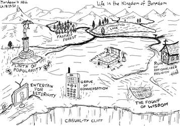 Life in the Kingdom of Boredom by mordecai-pyre