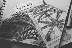 Pray for Paris ... by elizabetezv
