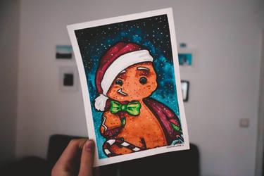 Gingerbread man... by elizabetezv