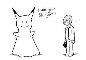 Light's New Shinigami by nightshadevalentine