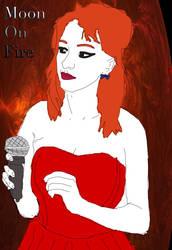 Moon on Fire - Poster by brendanian05