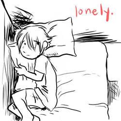 lonely night by DeviantFloe
