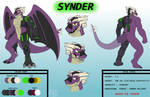 Synder Character Sheet ~ Special Commission by PonyEcho