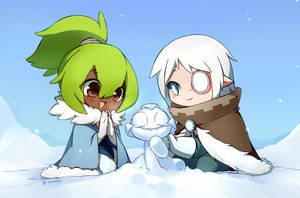 Haremalia_Snow Day by linyuenj