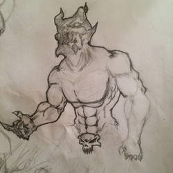 Devil *WIP* by Kombatinez