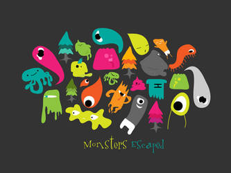 Monsters Escaped by SloorpWorld