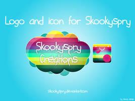Skookyspry Creations Logo by SloorpWorld