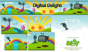 Digital Delight Commission by SloorpWorld