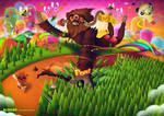 Super Mushroom by SloorpWorld