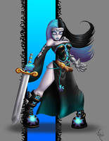 Elsinore The Medieval Goth by LadyKallaghash