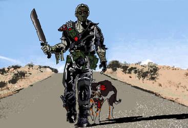 Road warrior mad max jason by ibentmywookiee