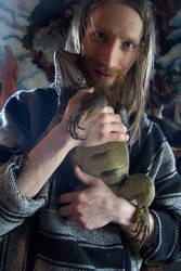 A goblin and his dragon by tamaratomorrow