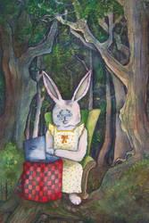 little bunny foofoo by tamaratomorrow