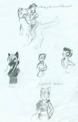 Des sketches pour de futurs 1 by Loup-de-Feu