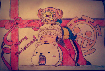 Merry Christmas_One Piece by PaCii8