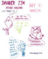 IZ Episode Sketch Challenge- Day 3 by SecretagentG