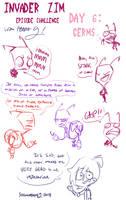 IZ Episode Sketch Challenge- Day 6 by SecretagentG