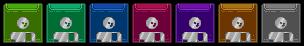 floppy disks sprites by leonardoxy