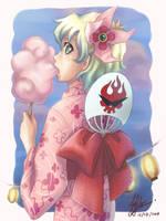 TTGL: Summer Nia by Kiraneko