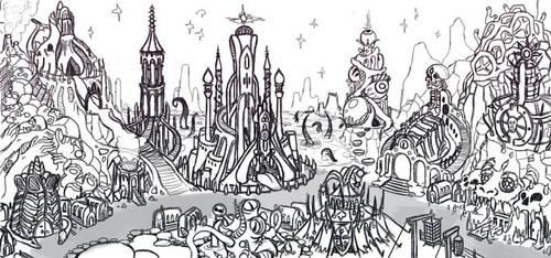 asylum sketch by Don-ko