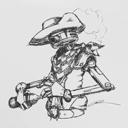 Ol' Western Robo by Sir-Rysik