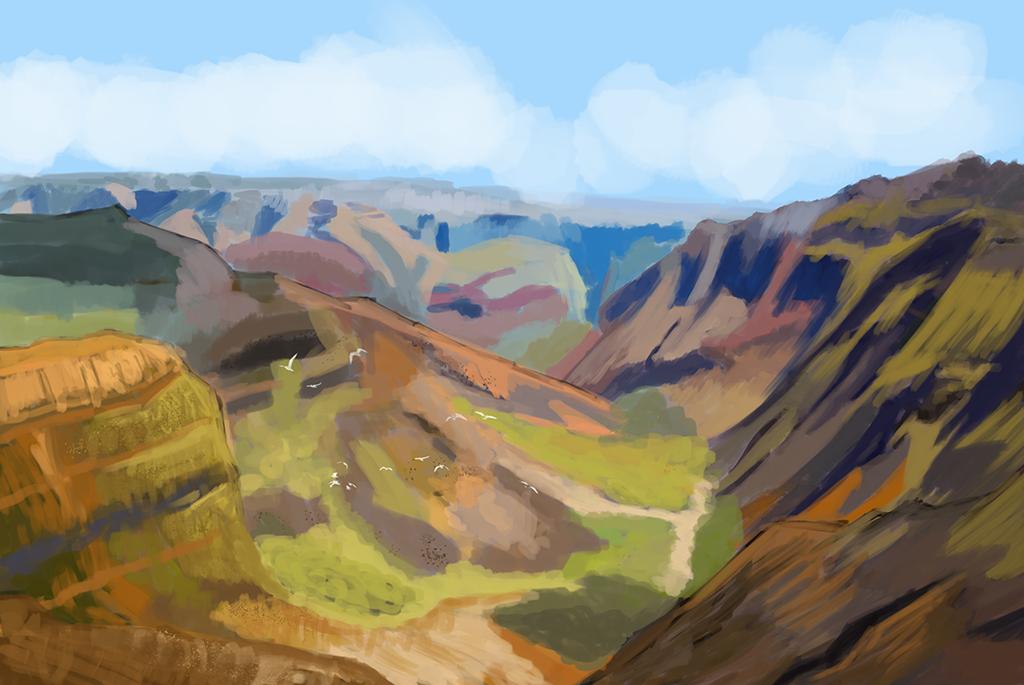 Canyon by Kxmode