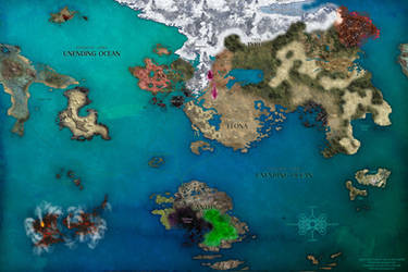 Tyria World Enhanced Map (Click Download button) by Kxmode