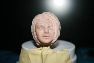 Arya's Head work in progress by Reffelia