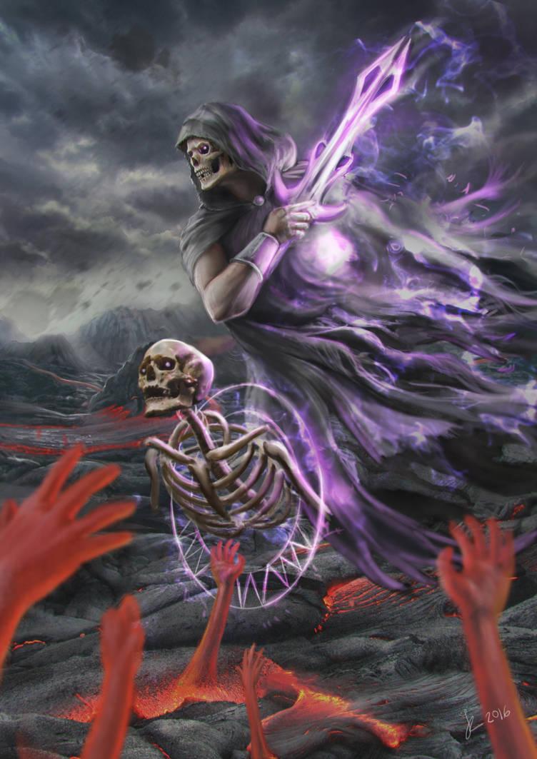 Death - 2016 artwork by Reffelia