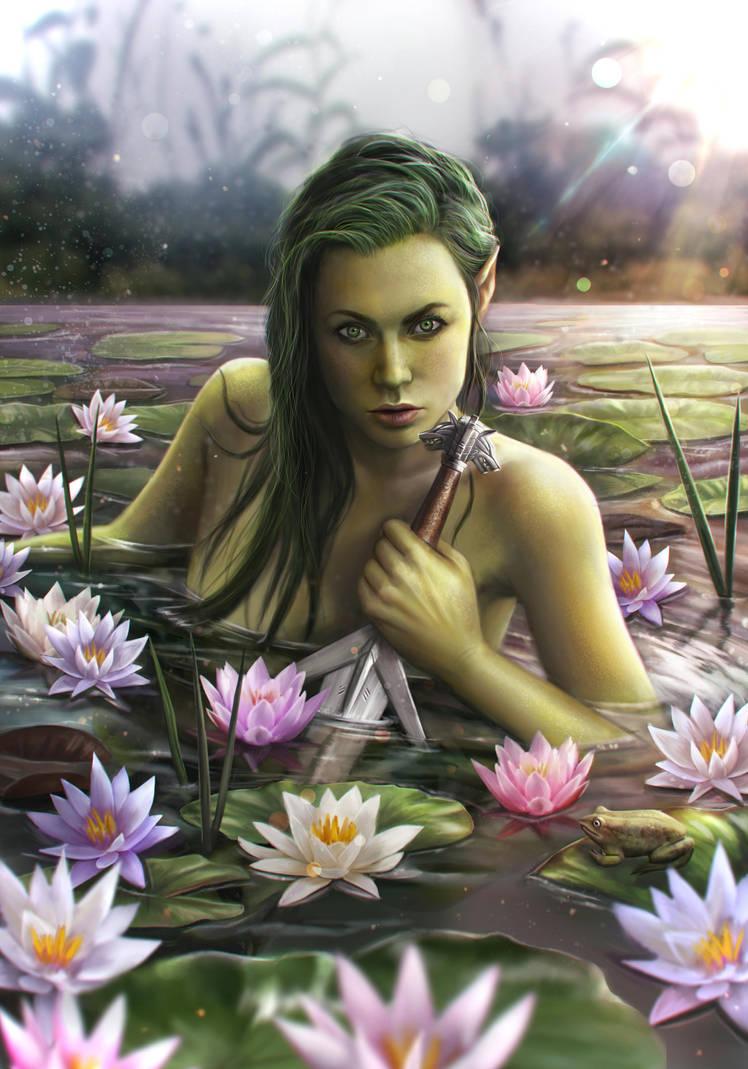 Lady of the lake by Reffelia