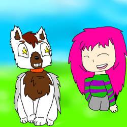 Maddie's new Pet! by Catsila