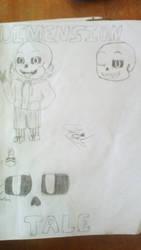 My au DimensionTale Sans by Catsila
