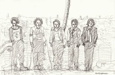 sketch:one two three four five by koony