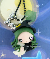 the witch and the moon by AlchemianShop