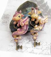 dragons by AlchemianShop