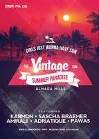 Vintage Summer Flyer by DusskDeejay