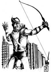 Green Arrow by SilviodB