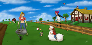 Farm Life by Tobsen85