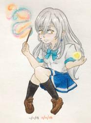 Pocky Magic by Tsurohito-Lianrie