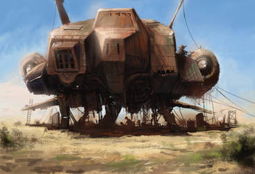Rusty Ship 2 by J-Humphries