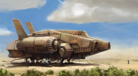 Rusty Ship 4 by J-Humphries