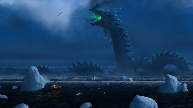 Jormungandr: The World Serpent by J-Humphries