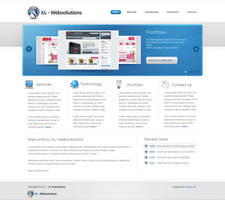 Web company layout by Robke22